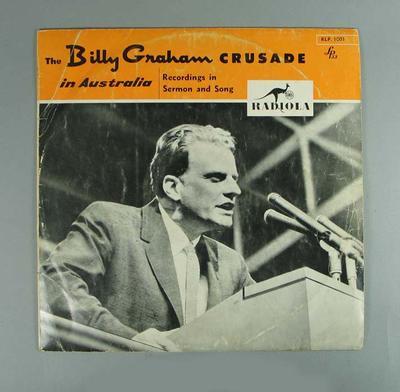 Vinyl record, Billy Graham Crusade in Australia 1959