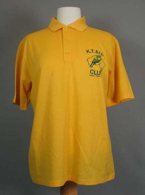 Kookaburra Cricket Club T-shirt  - item from 1991 tour of British Isles