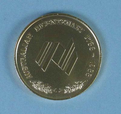Commemorative Medal - Australian Bicentenary 1988
