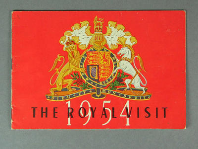 Souvenir programme, 1954 Royal Visit