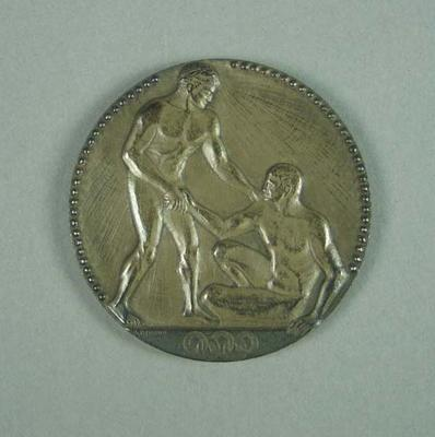 Silver medal won by Ivan Stedman, 4x200m freestyle - 1924 Olympic Games
