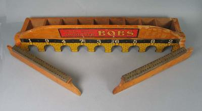 Wooden game, Bobs