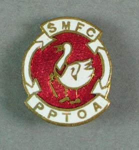 Badge, South Melbourne FC Past Players Association; Civic mementoes; 1988.1904.66