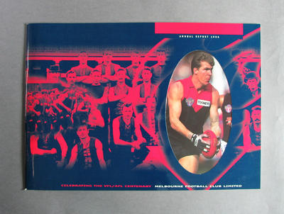 Annual report, Melbourne Football Club - season 1996