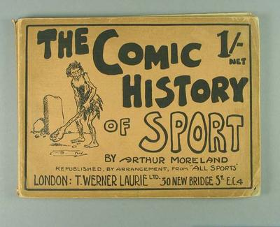 """Book, """"The Comic History of Sport"""""""