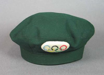 Hat, 1956 Olympic Games driver's uniform