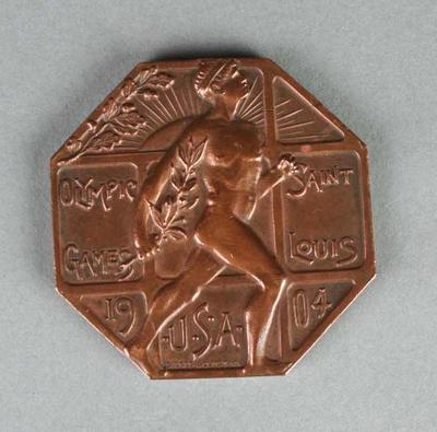 Commemorative medal, 1904 St Louis Olympic Games