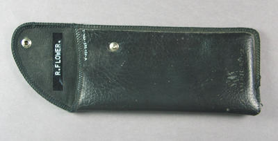 Case for glasses worn by Robert Flower, aged 16
