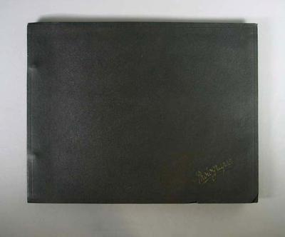 Photograph album, assembled by Harry Morris c1936
