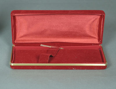 Presentation box, used to house medals