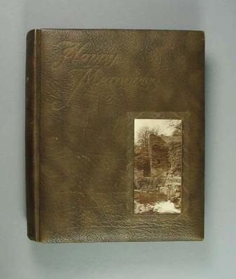 Postcard album, assembled by Harry Morris c1920s