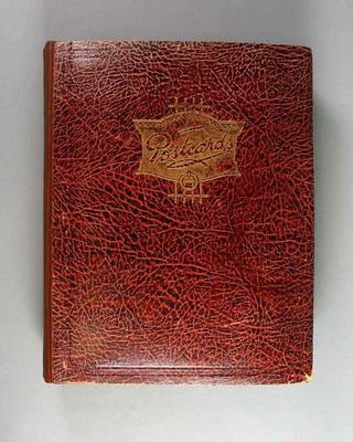 Postcard album, assembled by Harry Morris c1930s