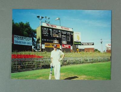 Photograph of MCC cricketer Fraser Main, 1992