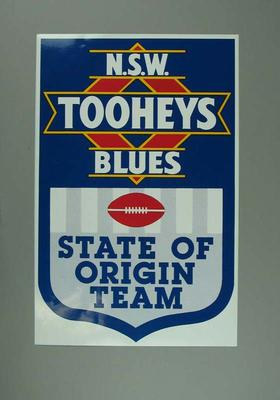 Sticker, New South Wales 1994 State of Origin team