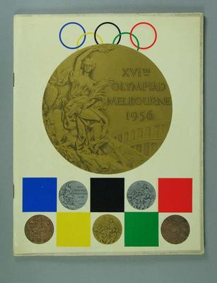 XVIth Olympiad Melbourne 1956 Souvenir Book