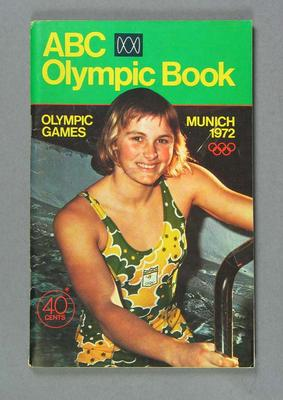 1972 Munich Olympic Games ABC Olympic Book; Documents and books; 1986.384