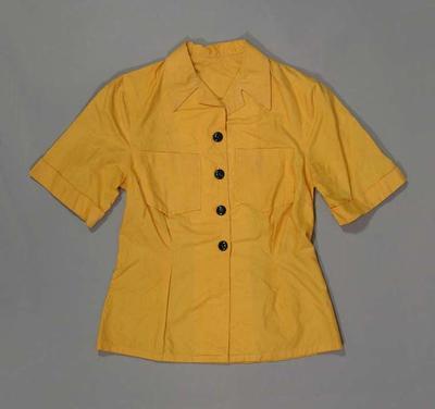 Shirt - part of Official Chauffeur's uniform, 1956 Melbourne Olympic Games