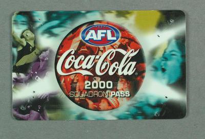 Squadron Pass, AFL 2000 Season - Hawthorn