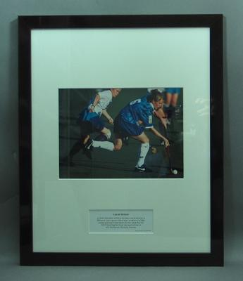 Framed photograph of Louise Dobson