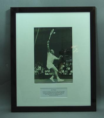 Framed photograph of John Fraser