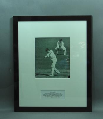 Framed photograph of Paul Sheahan; Photography; Framed; M15246