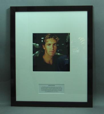 Framed photograph of James Tomkins; Photography; Framed; M15250