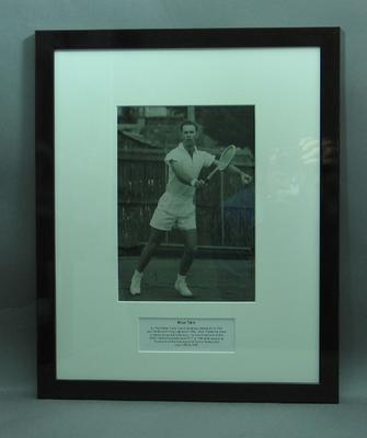 Framed photograph of Brian Tobin