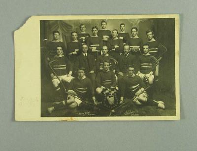Postcard, Tamar Lacrosse Club c1910-11