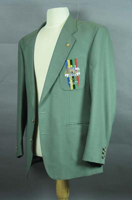 Blazer, 1992 Australian Olympic Games team uniform; Clothing or accessories; 1999.3565.18