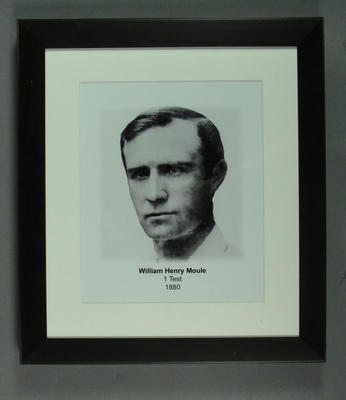 Photograph of William Moule; Photography; Framed; M15315