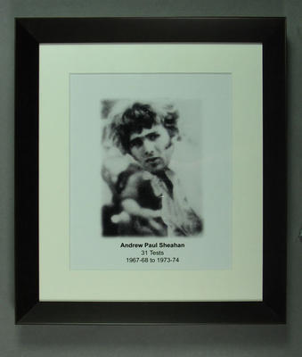 Photograph of Paul Sheahan; Photography; Framed; M15338