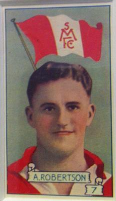 Trade card featuring Austin Robertson c1930s