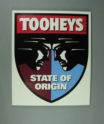 Poster, Rugby League State of Origin 1994