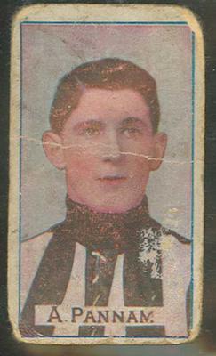 Trade card featuring Albert Pannam c1930s