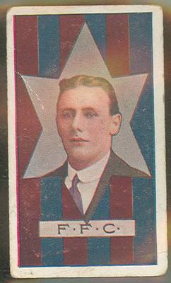 Trade card featuring George Lambert c1930s