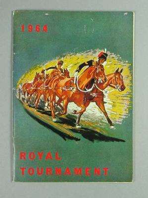 Programme, 1964 Royal Tournament