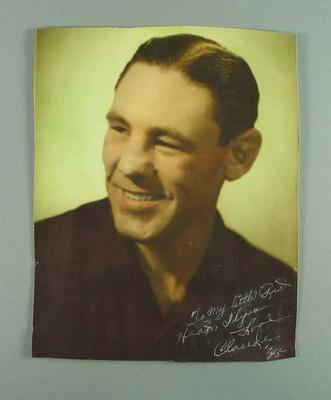 Photograph of Claude Varner, c1945