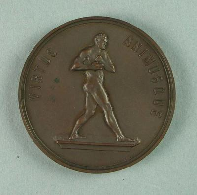 Medal, Victorian Amateur Boxing and Wrestling Association Heavyweight 1937