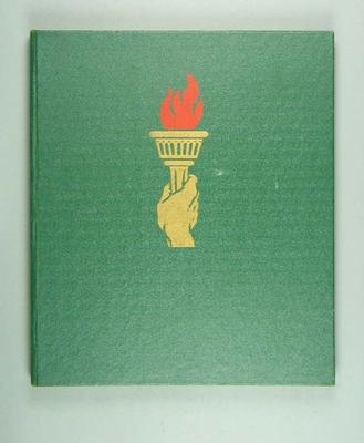 Report of 1956 Melbourne Olympic Games; Documents and books; 1986.408.2