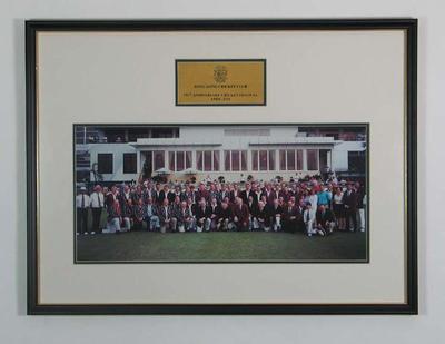 Photograph of Hong Kong Cricket Club 150th Anniversary Celebrations, 2001