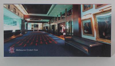 MCC Christmas Card 2005, signed by Stephen Gough