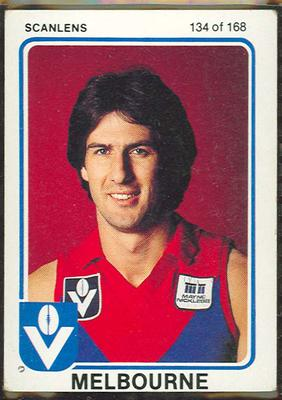 1981 Scanlens VFL Football Steven Smith trade card; Documents and books; 1986.6.41