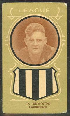 Trade card featuring Horace Edmonds c1930s