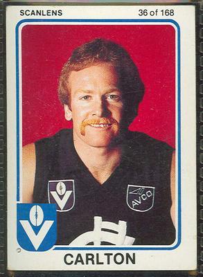 1981 Scanlens VFL Football Phil Maylin trade card