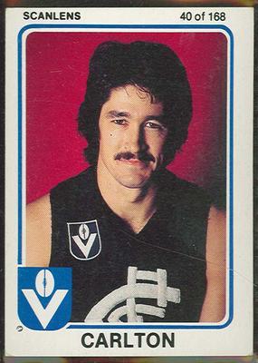 1981 Scanlens VFL Football Michael Fitzpatrick trade card