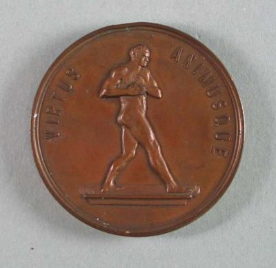 Medal, Victorian Amateur Boxing and Wrestling Association Lightweight 1929