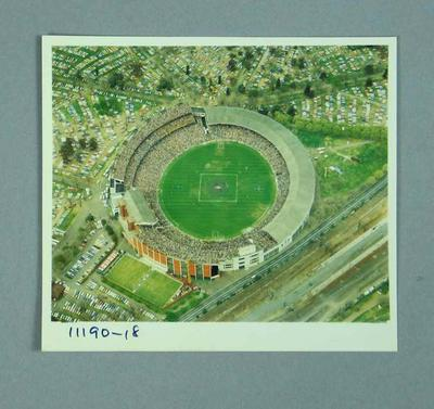 Aerial photograph of Melbourne Cricket Ground, 1980 VFL Grand Final