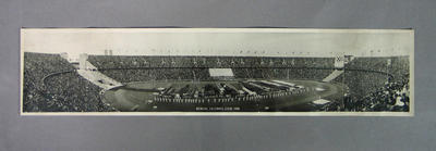 Panoramic photograph, 1936 Berlin Olympic Games Opening Ceremony