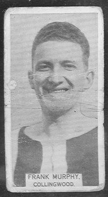1933 W D & H O Wills Footballers Frank Murphy trade card