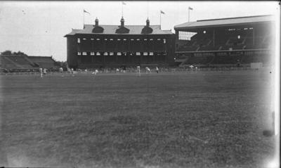 Glass negative, image of the Melbourne Cricket Ground c1930; Photography; 1993.2892.1